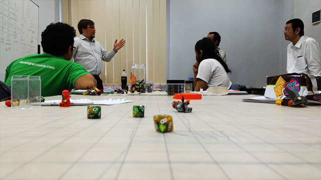 Explaining character stats and basic rules for the prototype.