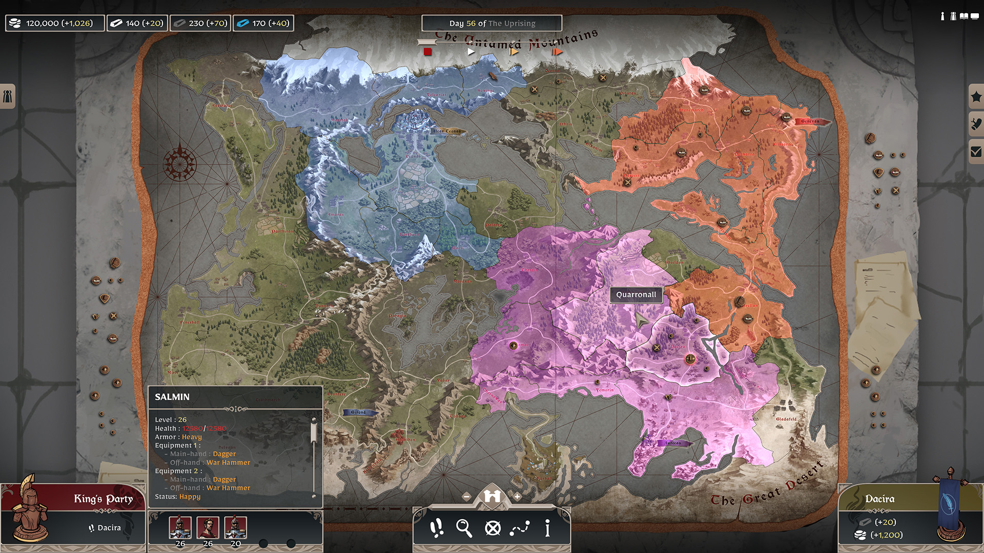 Forged of Blood strategic pre alpha screenshot