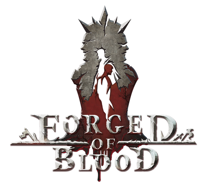Forged of Blood logo fulltext